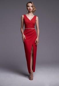 Czerwona sukienka Ella Boutique