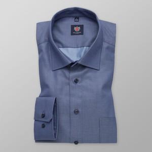 Niebieska koszula Willsoor z klasycznym kołnierzykiem z długim rękawem