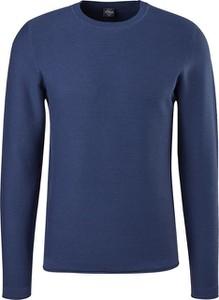 Niebieski sweter S.Oliver z okrągłym dekoltem w stylu casual