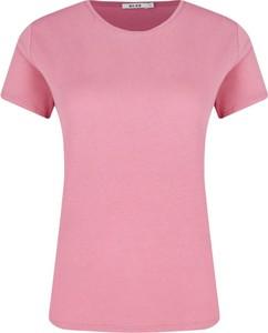 T-shirt NA-KD w stylu casual