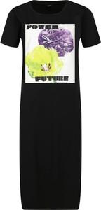 Czarna sukienka Liu-Jo w stylu casual prosta