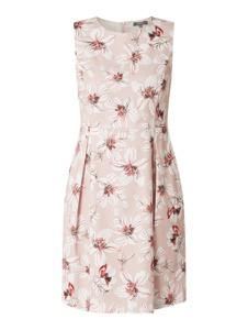 Sukienka Montego mini z okrągłym dekoltem z bawełny