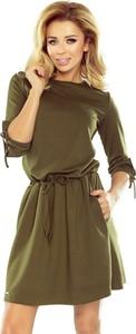 Sukienka NUMOCO z długim rękawem sportowa mini