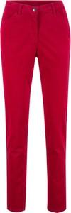 Czerwone spodnie bonprix bpc bonprix collection