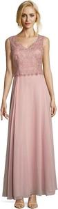 Różowa sukienka Vera Mont bez rękawów