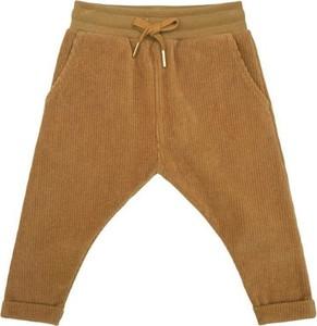 Brązowe spodnie dziecięce Petit By Sofie Schnoor