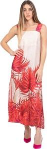 Czerwona sukienka Kaos bez rękawów