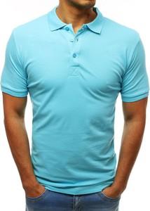 Koszulka polo Dstreet z bawełny w stylu casual