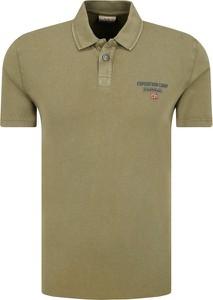 Koszulka polo Napapijri z krótkim rękawem