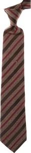Brązowy krawat Isaia