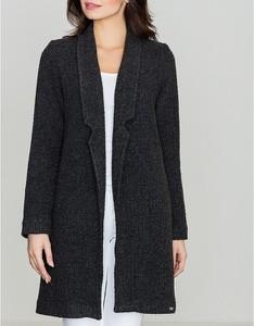 Czarny płaszcz LENITIF
