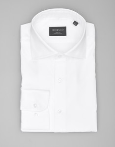 Koszula Borgio z bawełny z długim rękawem