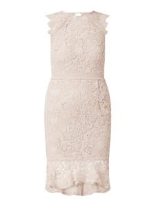 Sukienka Lipsy mini z okrągłym dekoltem bez rękawów