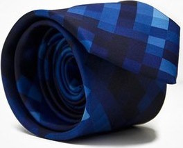 Niebieski krawat Marthu