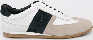 Buty sportowe Joop! sznurowane z zamszu