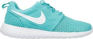 Buty sportowe Nike w sportowym stylu sznurowane roshe