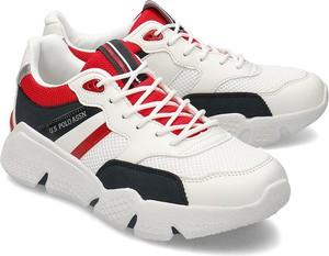 U.S. Polo Assn Ermes - Sneakersy Męskie - BOND4113S0/YM1 WHI-DKBL