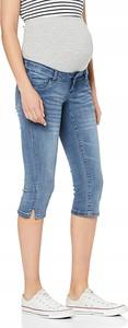 Niebieskie jeansy Mama Licious w stylu casual