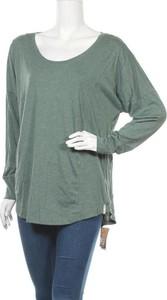 Zielona bluzka Patagonia w sportowym stylu z długim rękawem z okrągłym dekoltem