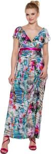 Sukienka My Tummy w stylu boho z tkaniny