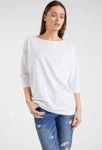 Bluzka FEMESTAGE Eva Minge w stylu casual z okrągłym dekoltem