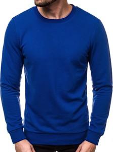 Niebieska bluza Ozonee z bawełny