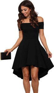 fc4be5ea66 Elegrina elegancka sukienka cicci czarna bez ramiączek