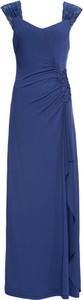 Niebieska sukienka bonprix BODYFLIRT boutique maxi bez rękawów