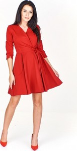 c2efc4c31b sukienka rozkloszowana z długim rękawem - stylowo i modnie z Allani