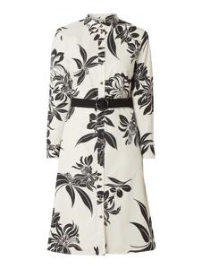 Sukienka Esprit z bawełny mini z długim rękawem