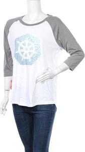 Bluzka Elevate w stylu casual z okrągłym dekoltem