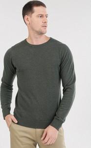 Zielony sweter born2be w stylu casual
