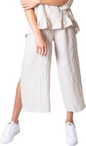 Spodnie Ak z płótna