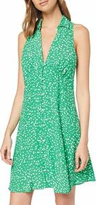 Zielona sukienka amazon.de bez rękawów