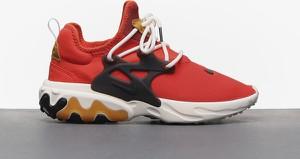 Czerwone buty sportowe Nike