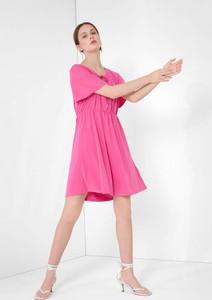 Sukienka ORSAY z długim rękawem mini z okrągłym dekoltem