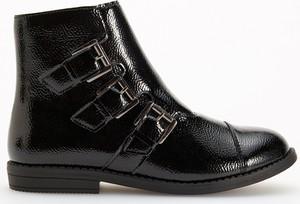 Czarne buty dziecięce zimowe Reserved