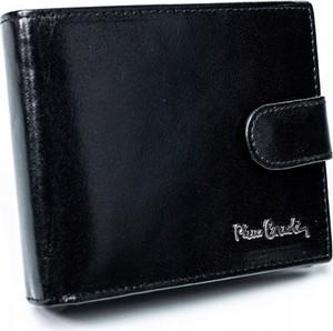 Czarny portfel męski Pierre Cardin
