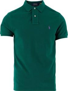 Zielona koszulka polo Ralph Lauren w stylu casual