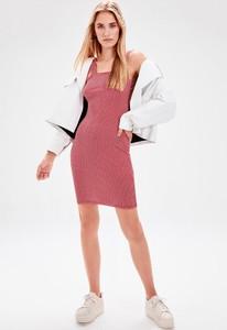 Sukienka Trendyol dopasowana mini