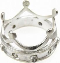 Venus Galeria Korona satynowa - pierścionek srebrny