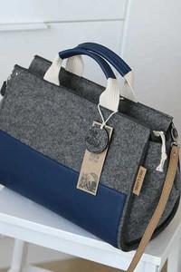 5e69091d8e96f seka torebki z filcu. - stylowo i modnie z Allani