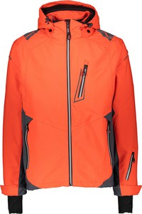 Pomarańczowa kurtka Killtec krótka