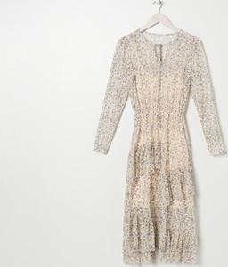 Sukienka Sinsay z długim rękawem