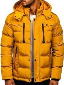 Żółta kurtka Denley w stylu casual