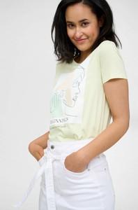 T-shirt ORSAY z krótkim rękawem z okrągłym dekoltem z dżerseju