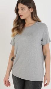 T-shirt born2be z krótkim rękawem z okrągłym dekoltem w stylu casual