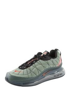Zielone buty sportowe Nike z tkaniny sznurowane