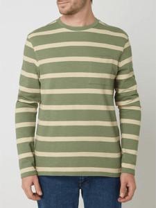 Zielony sweter McNeal z okrągłym dekoltem
