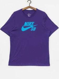 Niebieski t-shirt Nike